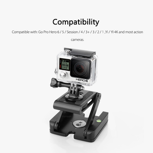 Image 3 - Vamson Accessories for Gopro Hero7 6 5 4 3 Fold Z Type Stand Holder Adapter Tripod Quick Release Plate for DSLR Camera VP419