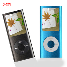 High Quality MP4 3 Player Slim 4TH 1.8″LCD MP4 with Video Radio FM Players for 2GB 4GB 8GB 16GB SD TF Card Slot with battery P20