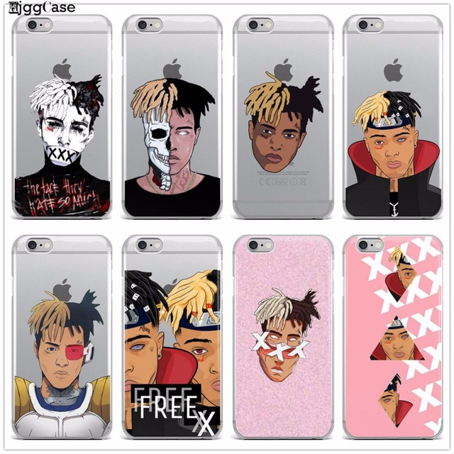 Xxxtentacion For iPhone 6 Soft silicone Phone Cover Case For iPhone 5 5S SE 6 6S 6Plus 6SPlus 7 7Plus 8 8Plus X