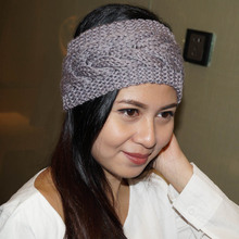 Wide Knitted Woolen Headband