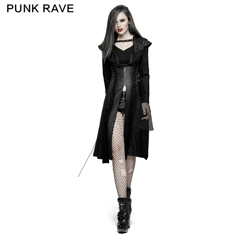 Gothic Punk Steampunk Fashion Heavey Metal Cosplay Vintage personality Party Sexy Coat Jacket Free Shipping Y730