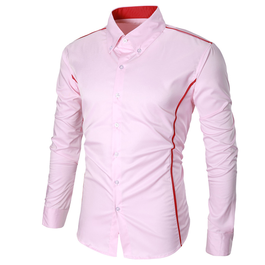 New-Fashion-Casual-Men-Shirt-Long-Sleeve-Turn-Down-Collar-Slim-Fit-Shirt-Business-Work-Mens (2)