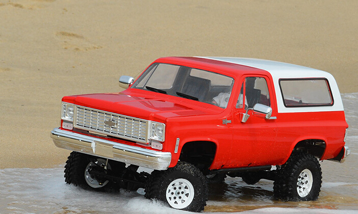 US $299 0 |Unpainted Chevrolet Blazer Hard Body For 1/10 Scale RC Rock  Crawler Defender D90 SCX10 Axial RC8WD Rover Land Gelande II Truck-in Parts  &