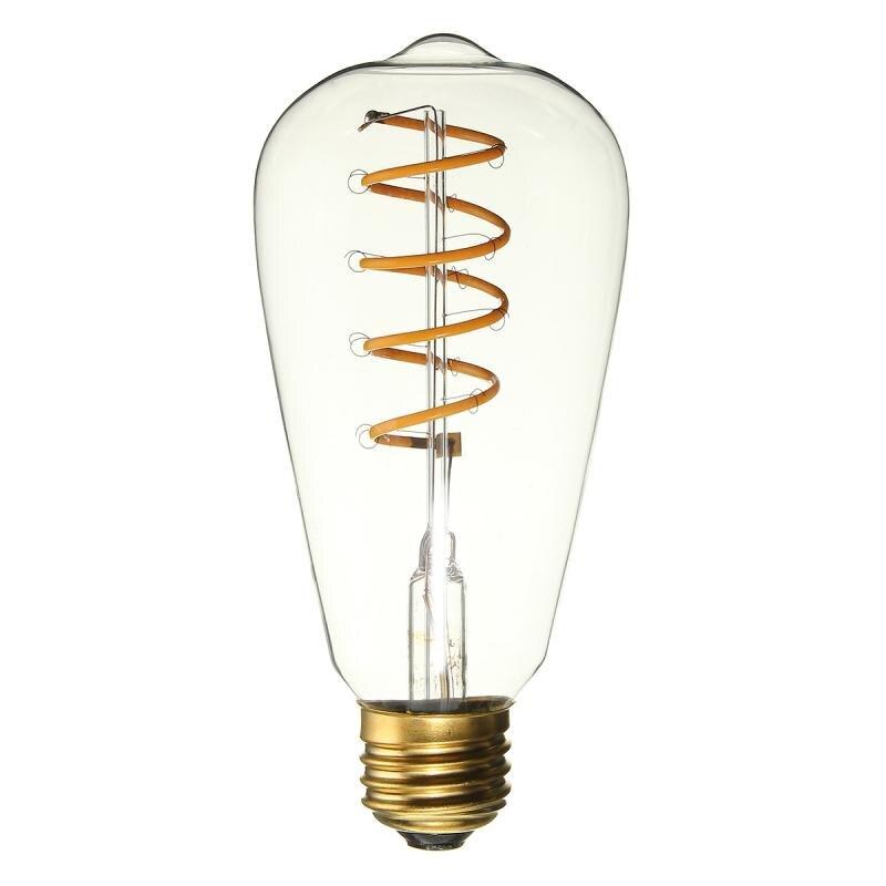 Vintage Retro Antique Dimmable E27 B22 LED Edison Filament Light Bulb Lamp 220V
