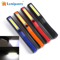 New USB Chargeing Mini Pen COB LED Flashlight Multifunction Led Torch Light Magnetic Working Inspection Lamp