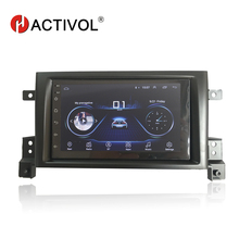 Hactivol 2 din accessori per auto auto radio stereo per SUZUKI Grand Vitara Nomade 2005-2011 car dvd player gps navi car sticker