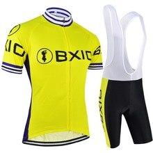 2017 Recién Llegado de Ciclismo Conjuntos de Estilo de Verano de Manga Corta Ciclismo ropa de Hombre Ropa Bicicleta Bike Pro Cycling BX-0209Y051