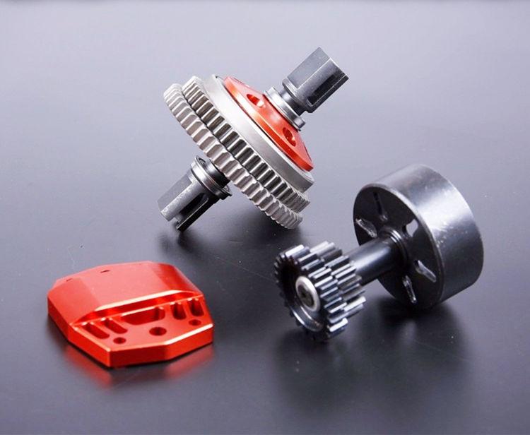 Сплав 2 Скорость Шестерни комплект два Скорость Системы двойной Шестерни Наборы для 1/5 масштаба Rovan LT Losi 5ive T ДДТ 5 т RC автомобиль GasTruck