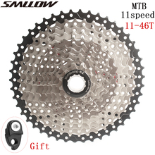 купить SUNSHINE-SZ 11s Cassette 11-46T Freewheel MTB Mountain Bike Bicycle Parts 11speed 11v Flywheel for parts M9000 XT SLX R gx x1 xo по цене 1882.29 рублей