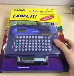 Original KL-60-L Portable English label machine, can print 6/9 / 12mm label