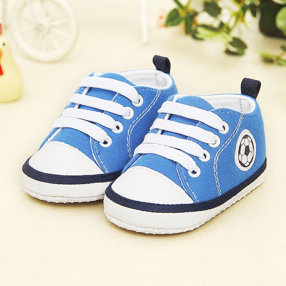 Newborn Infant Baby Sneaker Anti-slip Soft Sole Toddler Canvas Shoes Baby Boy Girl First Walkers Lovely Soft Sole Canvas Shoes