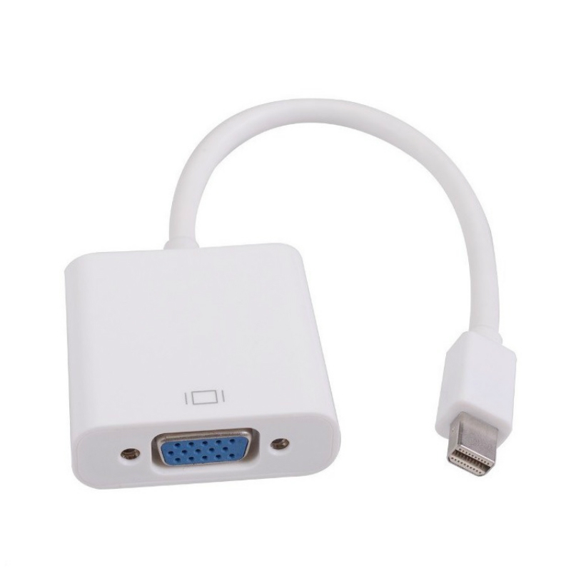 Кабель-адаптер Mini DP-VGA, конвертер Thunderbolt-VGA D-Sub 1080P для Macbook Pro Air iMac Mac Mini