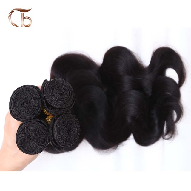 Unprocessed Brazilian virgin hair body wave 4pcs per lot human hair weave bundles customized 8-30 inches hair extensions