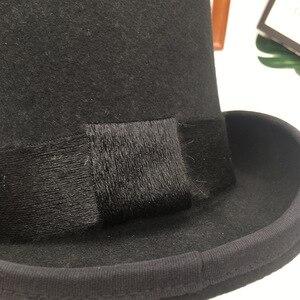 Image 3 - בריטי רוח באירופה ואת אדון כובע שלב ביצועים למעלה כובע רטרו אופנה ואישיות נשיא כובע כובע