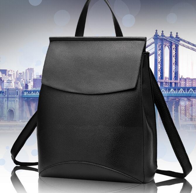 2017 New Design Pu Women Leather Backpacks School Bags Students Backpack Ladies Women s Travel Bags