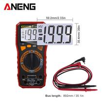 ANENG AN819C Digital Multimeter LCD AC/DC Ammeter Voltmeter Capacitance Resistance Temperature Triode Diode Tester richmeters true rms digital multimeter dc ac voltage current resistance diode capacitance temperature tester ammeter voltmeter