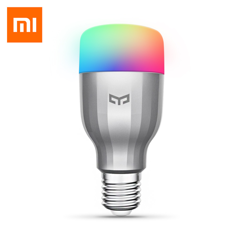 Yeelight YLDP02YL RGBW Smart LED Bulb WiFi Enabled 16 Million Colors CCT Adjustment Support Google Home Smart App Control
