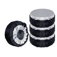 4 шт. шин Сумки для хранения сезонных колеса протектора шин Чехлы для мангала автомобиль для 13-20