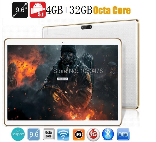 9 6 inch 4G LTE tablet pc Octa core bluetooth wifi GPS 1280 800 5 0MP