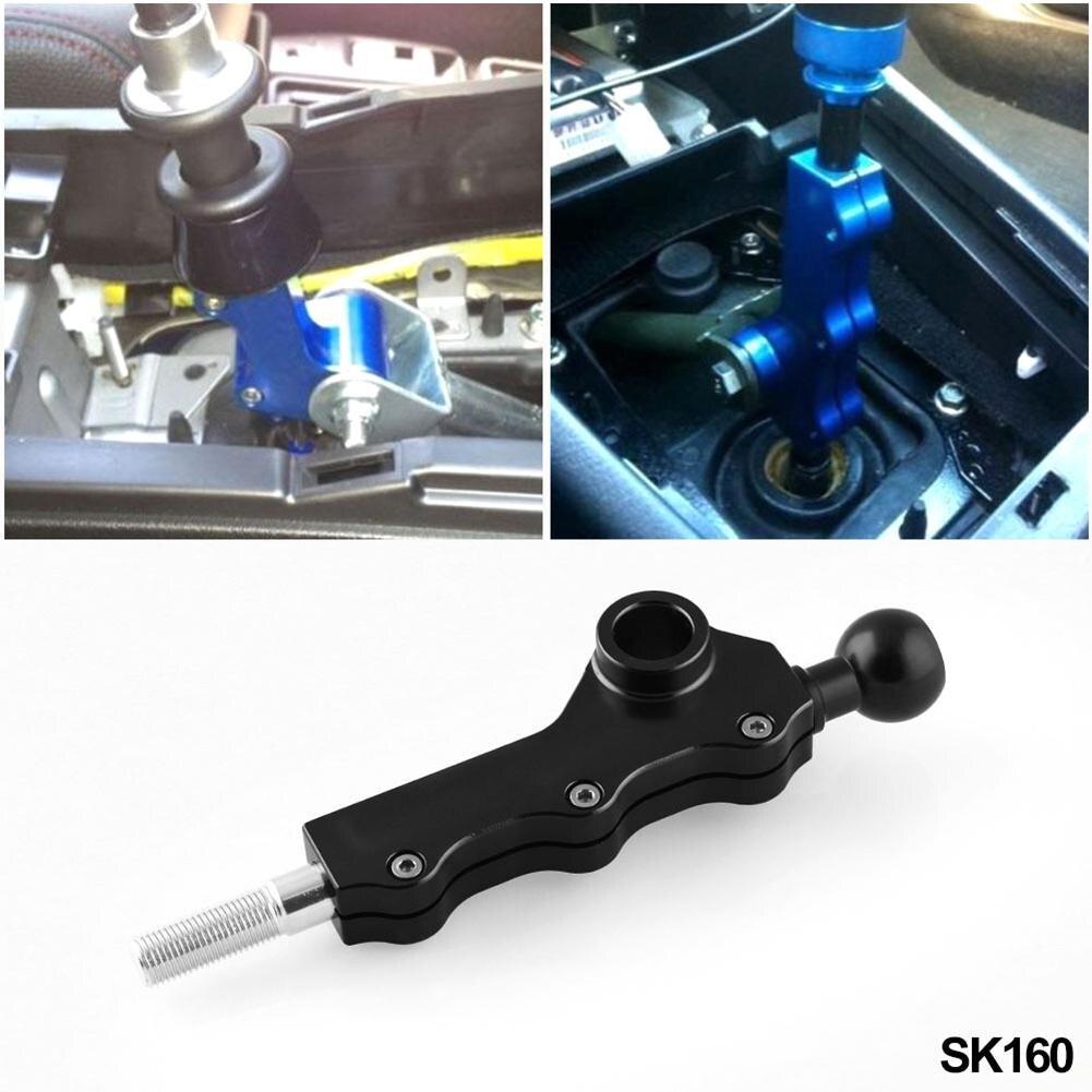 2002-2007 pour WRX alliage d'aluminium réglable manuellement Double levier de vitesse de réglage pour Subaru