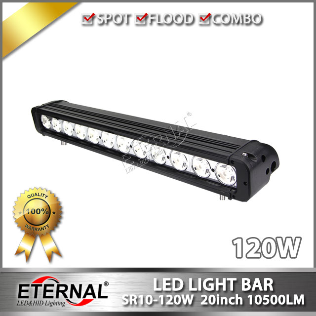 wholesale 6pcs-20inch 120W light bar off-road driving lamp powersports ATV UTV SUV buggy crawler 4x4 4WD racing vehicle