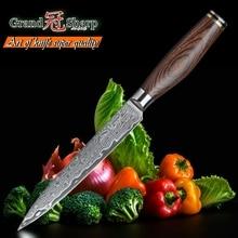 4,7 дюймов дамасский кухонный нож универсальный нож 67 слоев японский дамасский нож из нержавеющей стали VG-10 Дамасские Ножи шеф-повара