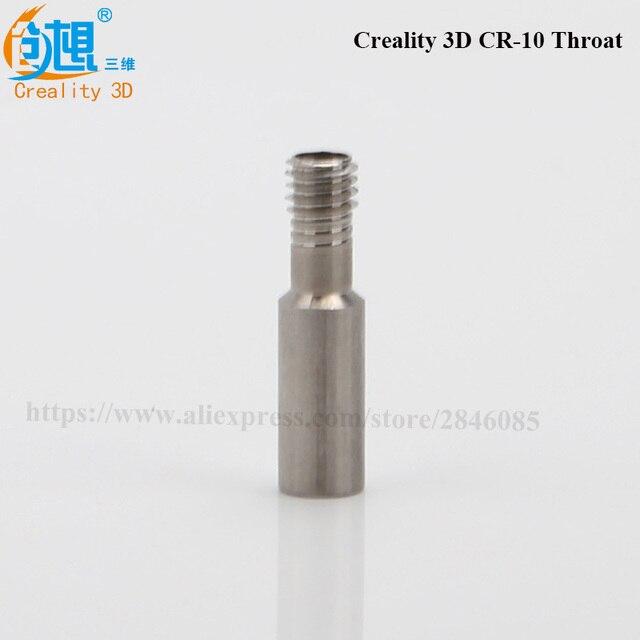 Créalité 3D CR-10 spécial gorge Bowden téflon Tube Long fil pour 1.75mm Filament 3D imprimantes pièces entièrement en métal