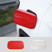 SHINEKA Auto ABS Fuel Tank Cover Gas Oil Tank Cap Sticker Fit For Jeep Compass 2017 Interior Accessories