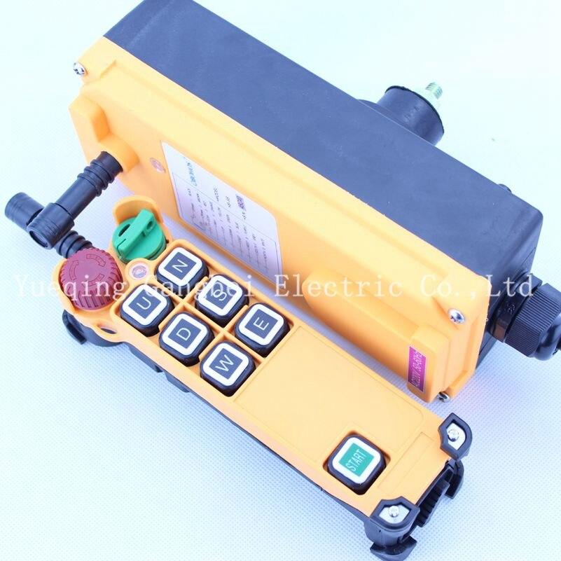 HS-6S   Hoist crane remote control wireless radio Uting remote control 380VAC 220VAC 36VAC  12VDC-24VDC плоскогубцы te hs 2096 6 hs 2096