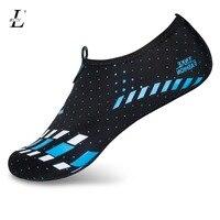 Men Woman Foldable Waterproof Barefoot Skin Sock Striped Shoes Soft Beach Pool Footwear Shoes Breathable Flat