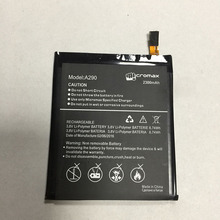 High Capacity Battery 3.8V 8.74wh 2300mAh Li-polymer Mobile Phone Battery For Micromax A290 Smartphone battery bateria