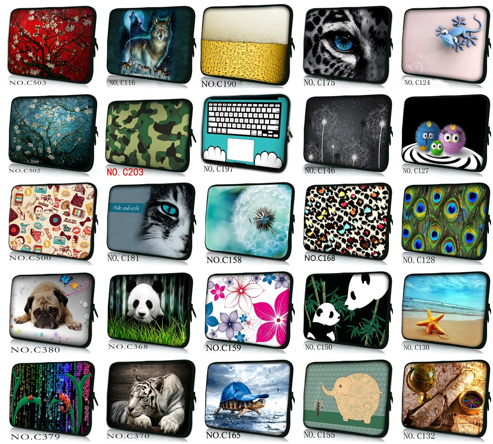 Waterproof Neoprene Soft Wholesale Laptop Sleeve for Macbook Air/Pro 13 Case Computer Case for Dell Inspiron 13 14