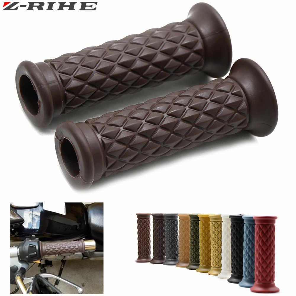 "OEM Purple Rubber Bike Bar Grips Handlebar 7//8/"" 22.2-4 7//8/"""
