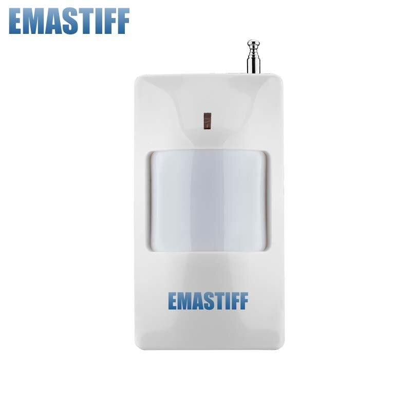 ¡Envío Gratis! Antena externa Sensor PIR inalámbrico 315MHZ o 433MHz PIR Detector de Sensor de movimiento para gsm pstn alarma de seguridad para el hogar