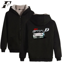 LUCKYFRIDAYF 2018 INITIAL D suit plus size coats mens jackets and coats INITIAL D winter coats and jackets girls