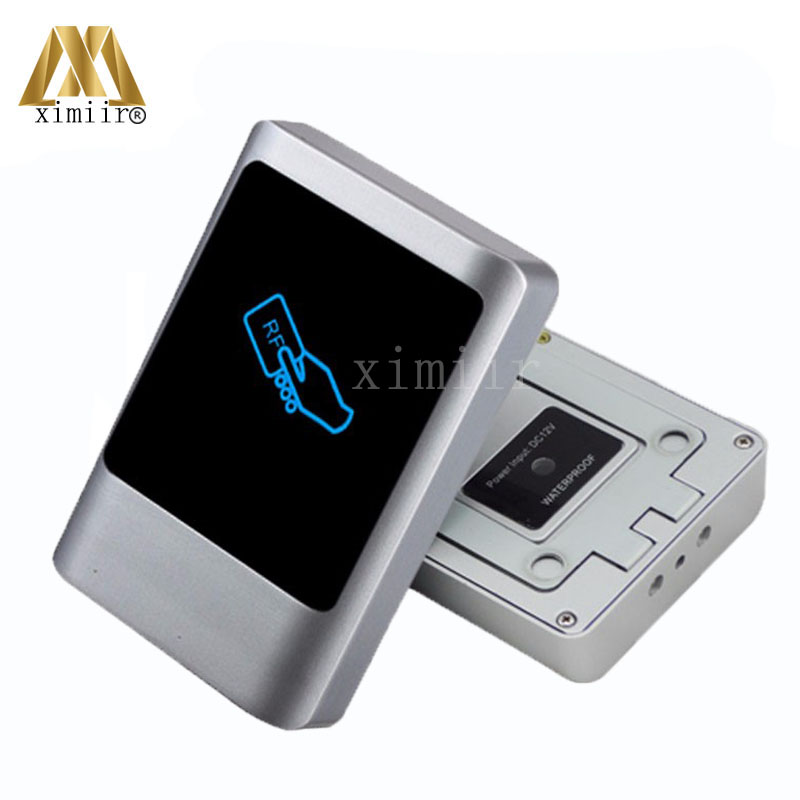 Good Quality IP68 Waterproof RFID Card Reader For Access Control System Wiegand26/34 Smart 125KHZ RFID Card Metal Access Reader waterproof for rfid card reader access control system identification card reader with wg26 34 for home security f1683a