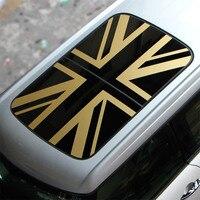 Union Jack Car Sunroof Roof Sticker for Mini Cooper One Countryman Clubman F54 F55 F56 F60 R55 R56 R60 R61 Styling