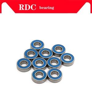 10 шт. ABEC-5 MR126-2RS MR126 2RS MR126 RS MR126RS 6x12x4 мм синий резиновый герметичный миниатюрный высококачественный глубокий шаровой подшипник