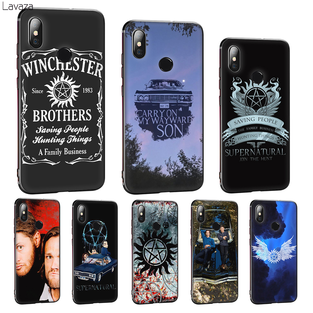 Lavaza Supernatural SPN Soft Silicone Cover for Huawei Mate 10 20 P8 P9 P10 P20 P30 Lite Pro P Smart 2019 TPU Case image