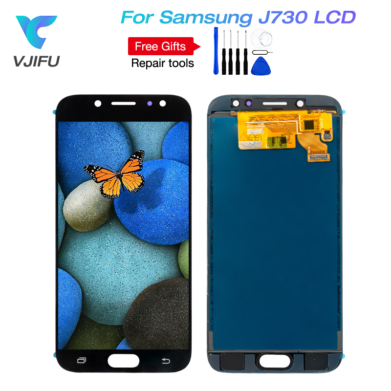 5PCS J730 LCD For Samsung Galaxy J7 Pro 2017 J730 J730F LCD Display and Touch Screen Digitizer Assembly J730F J730GM J730G LCD-in Mobile Phone LCD Screens from Cellphones & Telecommunications    1