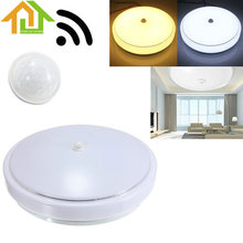 12W AC110-265V PIR Infrared Motion Sensor Flush Mounted LED Ceiling Light