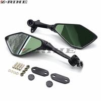 black Universal Motorcycle Mirrors motorbike Plastic Rearview side Mirror For Yamaha YZF R3 R1 R6 R125 R15 R25 FZ8 FJR XJR