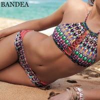 BANDEA Bikini Women 2018 Swimwear Sexy Swimsuit For Women Bathing Suit Brazilian Bikini Set Girl Biquini