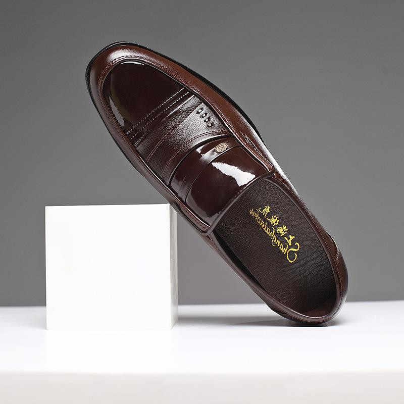 Thương Hiệu Ý Da Nam Trọng Nam Cổ Điển Giày Oxford Nam Áo Da Giày Nam Lười Đen & Nâu