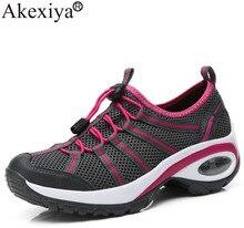 Akexiya נשים נעלי הליכה איש הרים טיפוס טרקים נעלי מקצועי לנשימה חיצוני Sneaker עבור קמפינג נסיעות