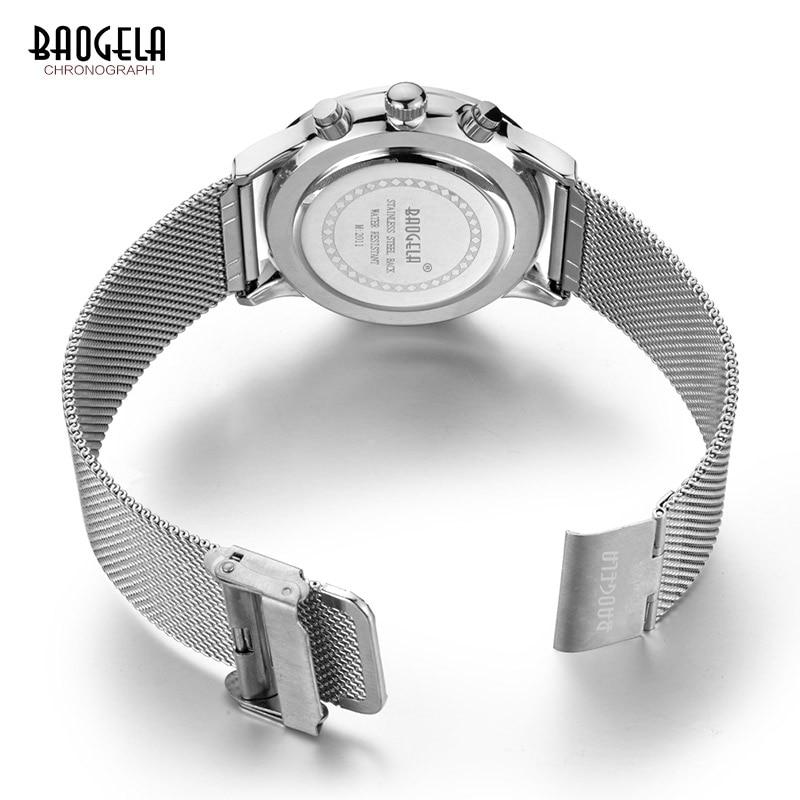 Baogela New Top Luxury Watch Տղամարդկանց - Տղամարդկանց ժամացույցներ - Լուսանկար 5