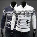 Bestitem Free Shipping Newly Fashion Men's Pullover Little Fawn Sweater Men Slim Ugly Christmas Sweaters Outerwear