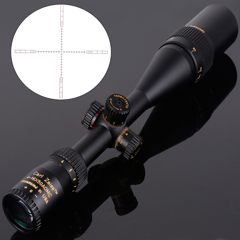 Carl Zeiss 4-16x50 Riflescope Hunting Red And Green Dot Tactical Optical Riflescope Sniper Gear For Airsoft Rifle