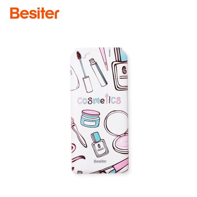 Besiter Small Power Bank 5000 Mah For Xiaomi Mi Powerbank Portable