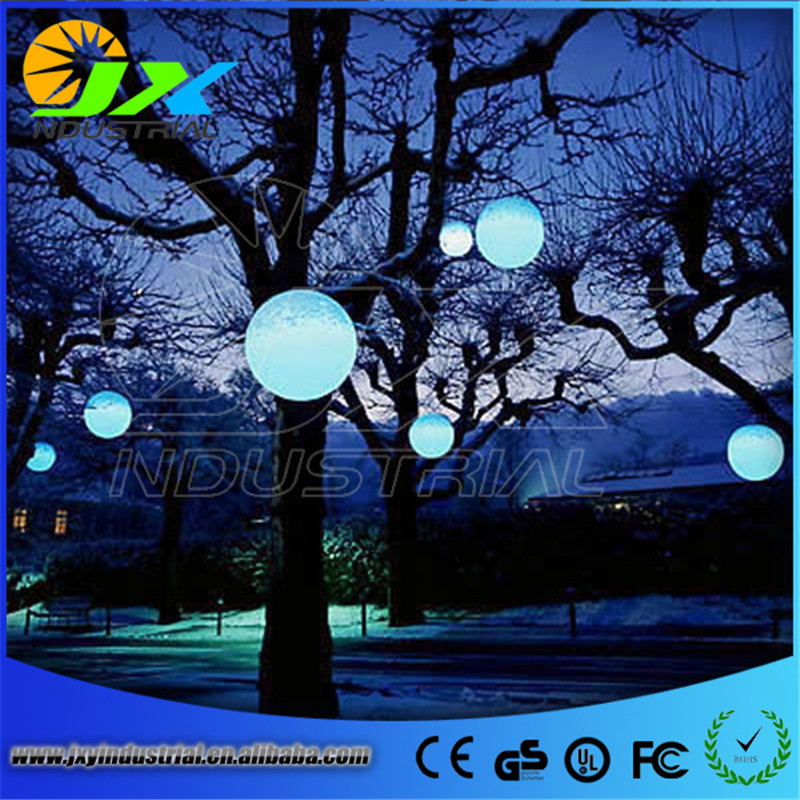 JXY 2pcs*15cm switch and remote control rechargeable led floating ball on swimming pool ...